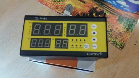 Терморегулятор для инкубатора lilytech Zl-7918А.